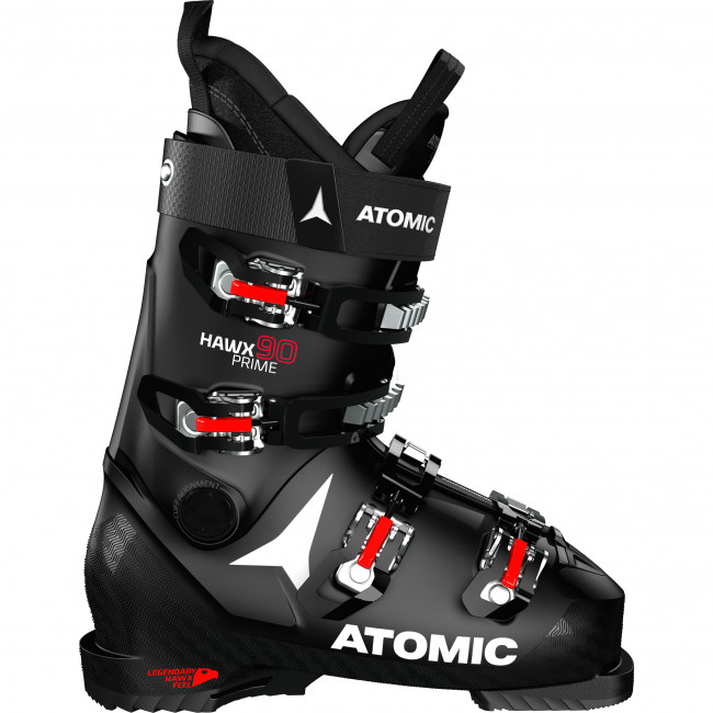 Atomic Hawx Prime 90, Pjäxor, Svart/Röd