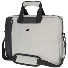 4F Messenger Bag, Ljusgrå