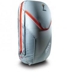 ABS Vario 18 Zip On, väska för ryggsäck, grå/orange