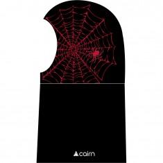 Cairn Banji Balaclava, junior, black spider