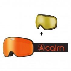 Cairn Magnetik, Skidglasögon, Matt Svart Orange