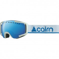 Cairn Next, skidglasögon, mat white blue