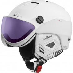 Cairn Spectral Visor Magnet 2 IUM, skidhjälm med visir, white plommon