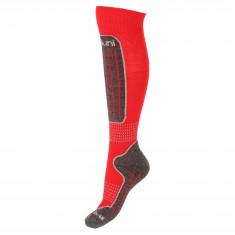 Deluni junior skidstrumpor, 1 par, röd