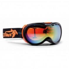Demon Bubble skidglasögon OTG, Svart/Orange
