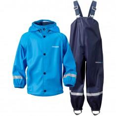 Didriksons Slaskeman, regnkläder, barn, blå