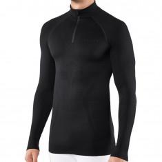Falke Long Sleeved Shirt Maximum Warm, herr, svart