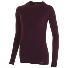 Falke Maximum Warm Longsleeved Shirt Tight Fit, dam, bordeaux