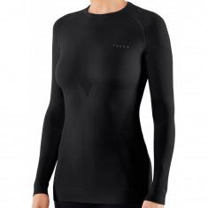 Falke Maximum Warm Longsleeved Shirt Tight Fit, dam, svart