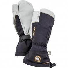 Hestra Army Leather Gore-Tex 3-finger, Skidhandskar, Svart