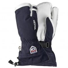 Hestra Army Leather Heli 3 finger Skidhandskar, Mörkblå