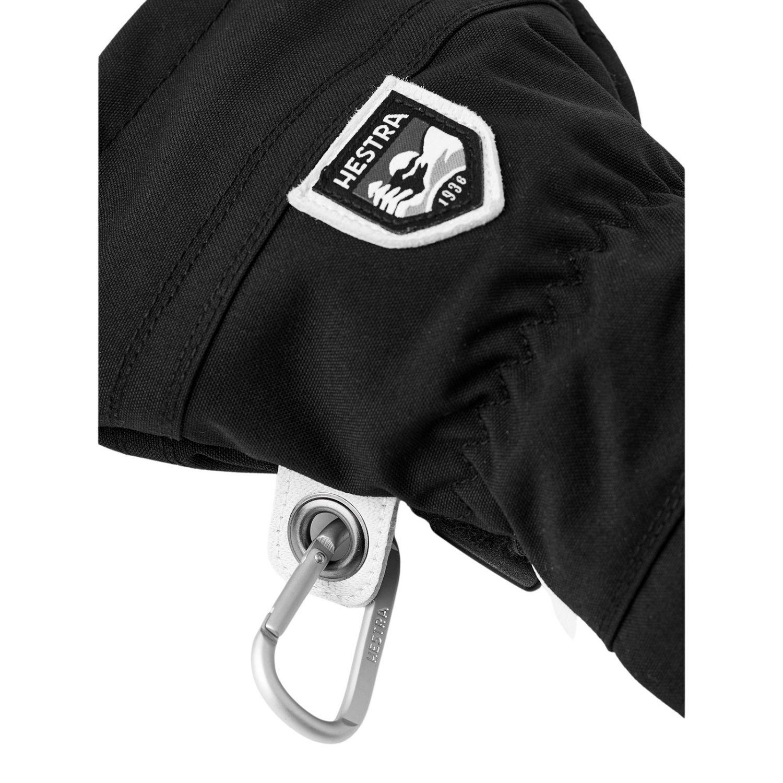 Hestra Army Leather Heli Skidhandskar, Svart
