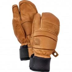 Hestra Leather Fall Line 3-finger Skidhandskar, Kork