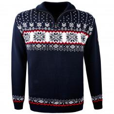 Kama Erik Merino Sweater, Herr, Navy