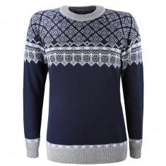 Kama Frida Merino Sweater, Dam, Blå