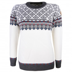 Kama Frida Merino Sweater, Dam, Vit