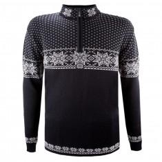 Kama Thor Merino Sweater, Herr, Svart