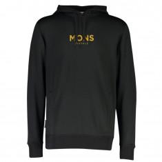 Mons Royale Decade Logo Hoody, Herr, Svart