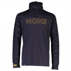 Mons Royale Yotei Powder Hood, Herr, Iron Camo