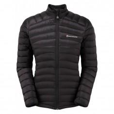 Montane Featherlite Down Micro Jacket, dam, svart