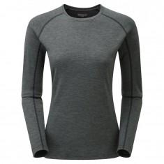 Montane Primino 220 Long Sleeve T-Shirt, Dam, Svart