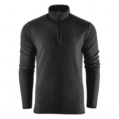 Outhorn Mideli 1/4 zip fleecepulli, barn/junior, svart