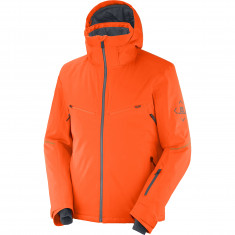 Salomon Brilliant JKT M, Skidjacka, Herr, Orange