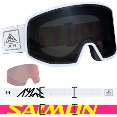 Salomon LO FI, Goggles, Svart/Vit