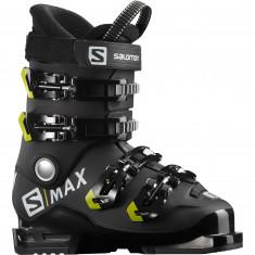 Salomon S/MAX 60 RT L, Skidpjäxor, Junior, Svart