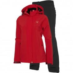 Tenson Biscaya, regnkläder, dam, röd