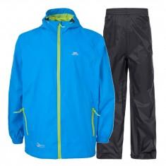 Trespass Qikpac, regnkläder, junior, cobalt