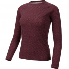 Ulvang 50Fifty 2.0 Round Neck, Dam, Bordeaux
