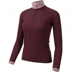 Ulvang 50Fitty 2.0 Turtle Neck, Dam, Bordeaux