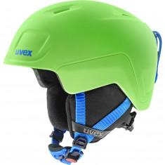 Uvex Heyya Pro, Skidhjälm, Junior, Grön/blå