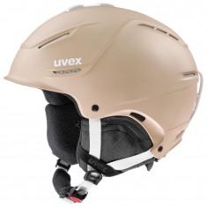 Uvex p1us 2.0, Skidhjälm, Beige
